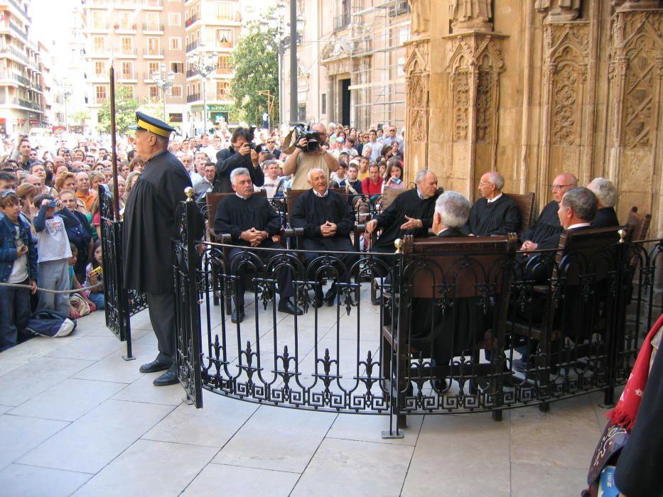 España - Tribunales de regantes en Valencia y Murcia.