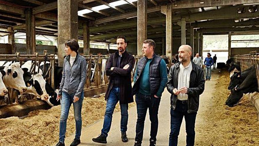 """El BNG se compromete a ser """"la voz de los ganaderos gallegos"""" en Madrid"""