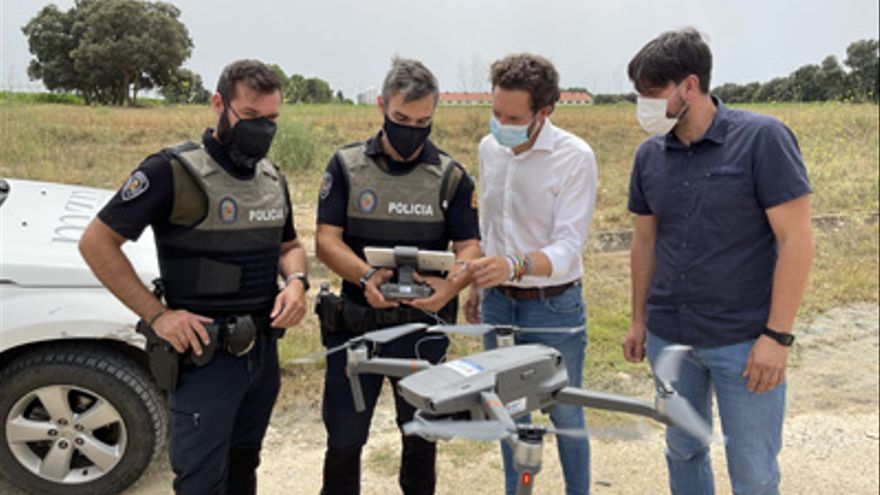 La Policía Local de Monzón ya trabaja con un dron de vigilancia