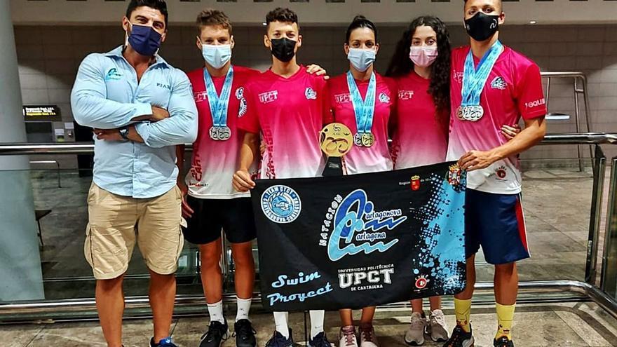 El CN Cartagonova Cartagena, campeón de España infantil