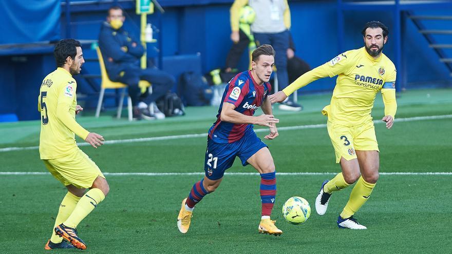 El Villarreal se llevó un partido de alternativas