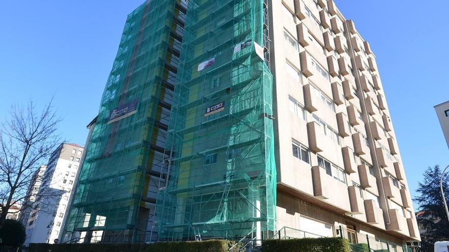 Pontevedra rejuvenece: más de una veintena de edificios rehabilitados al año