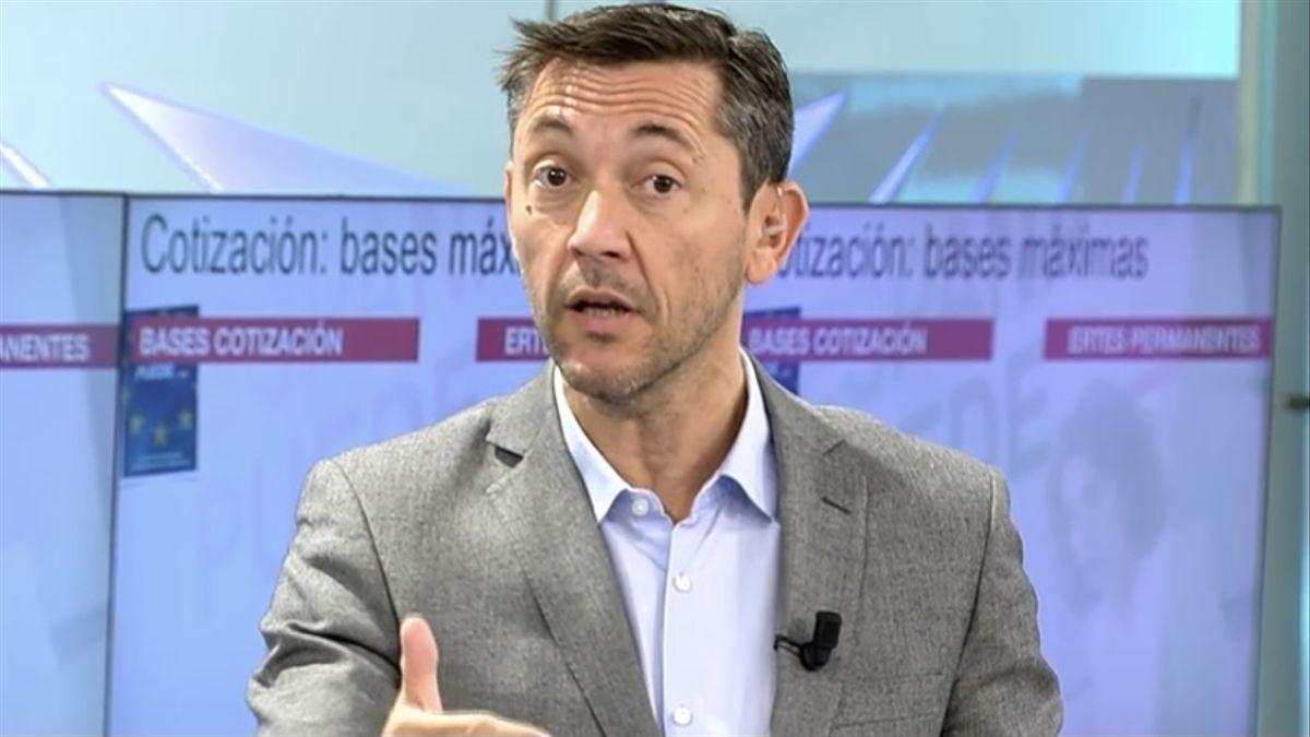 El periodista, Javier Ruiz.