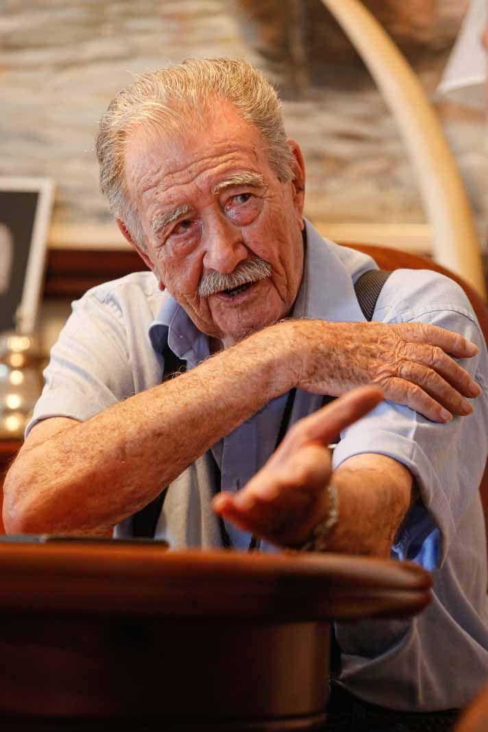 La vida de película del expresidente del Consell de Ibiza Marí Calbet