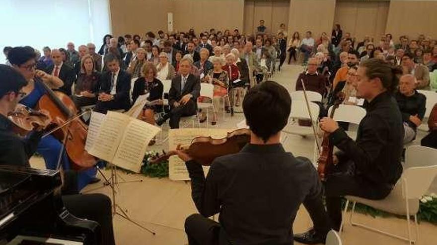 El grupo Albéniz de Prosegur protagoniza un concierto en las instalaciones de Padre Rubinos