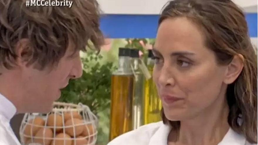 El coqueteo entre Jordi Cruz y Tamara Falcó crece en 'MasterChef Celebrity 4'