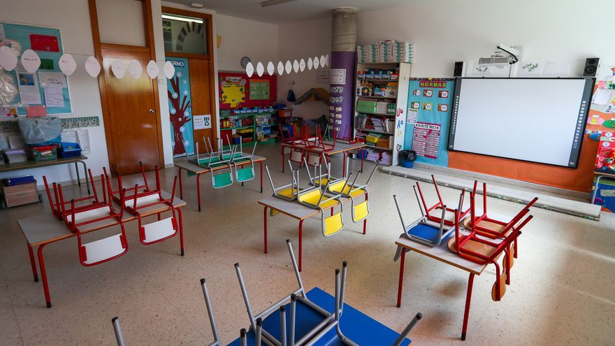 Cerradas 11 aulas en 10 centros educativos de Aragón por contagios de covid, la mitad que la semana anterior