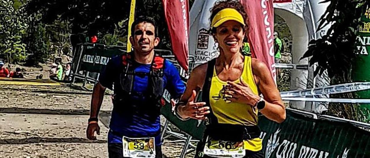 La vallisoletana Mónica Rodriguez, primera mujer en la distancia larga.