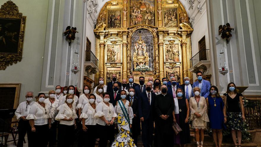 Málaga peregrina a la Victoria aunque no haya Feria