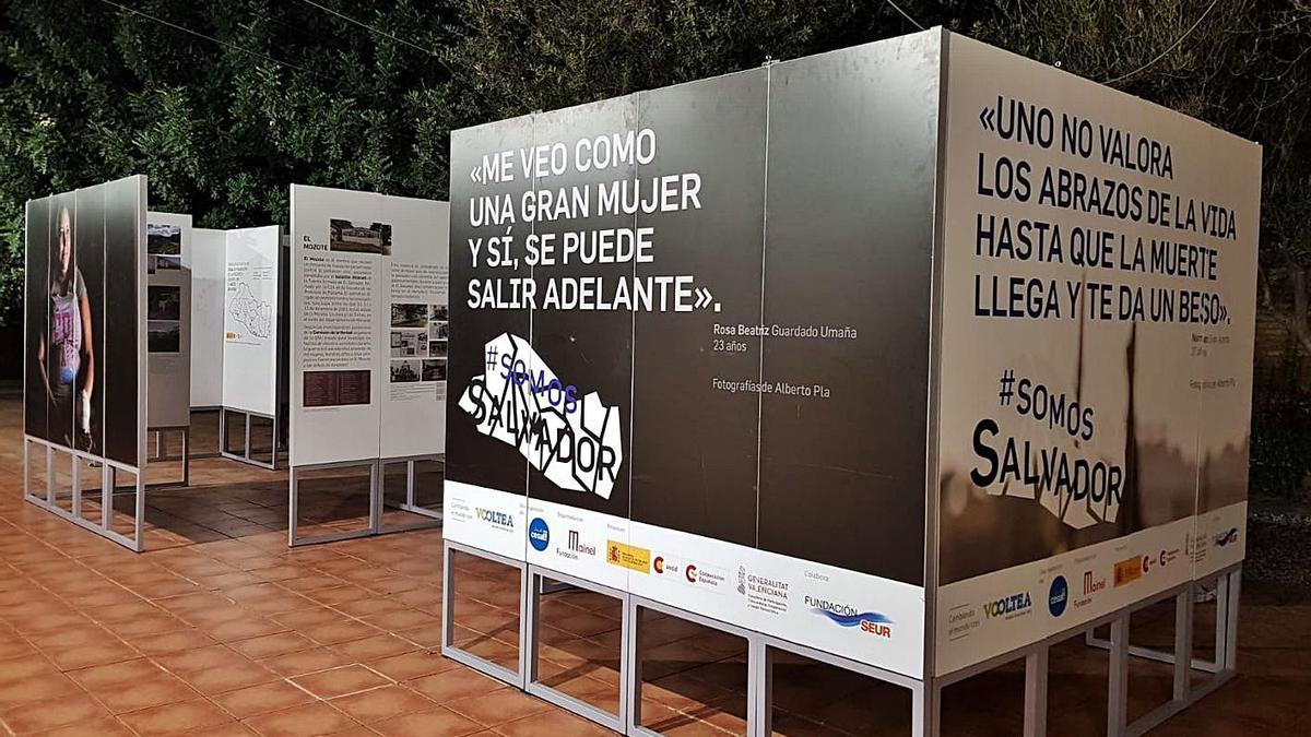 Imatge de l'exposició a Ruzafa Studio de València. | ALBERTO PLA