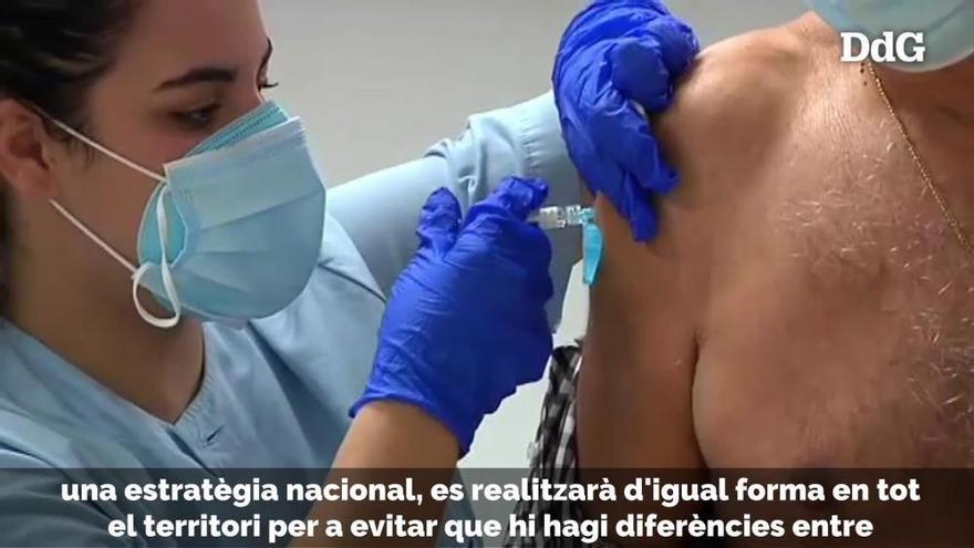 Sánchez anuncia un pla de vacunació únic per a tot Espanya