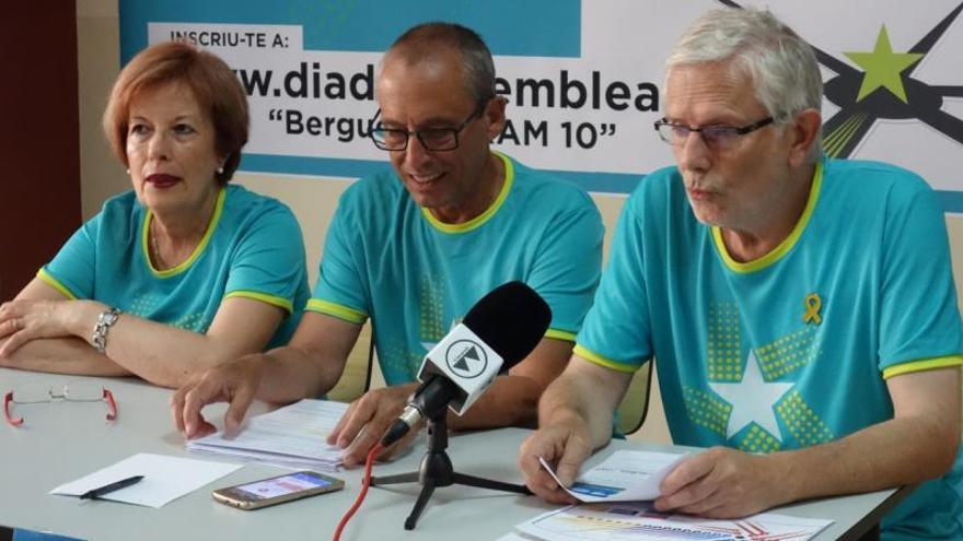 El Berguedà preveu omplir 15 autobusos per anar a la Diada