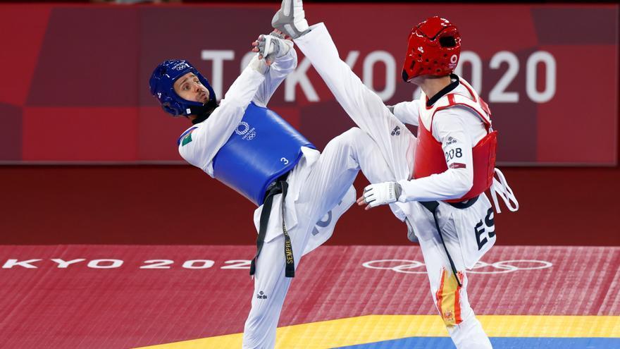 Vicente Yunta cae en cuartos de final de Taekwondo ante el surcoreano Jang Jun