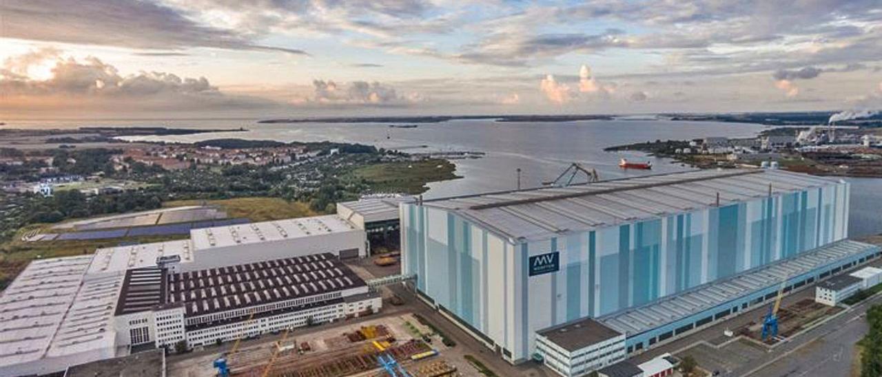 Instalaciones de MV Werften en  Wismar.