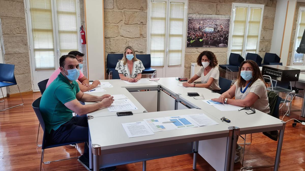 Reunión del comité organizador del Congreso del PP de Pontevedra