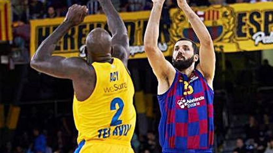 El Barça asfixia el Maccabi a la segona meitat i l'apallissa