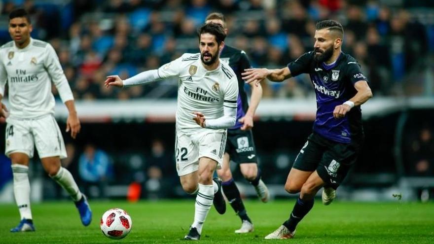 Trámite o debacle en Butarque en la cita entre el Leganés y el Real Madrid
