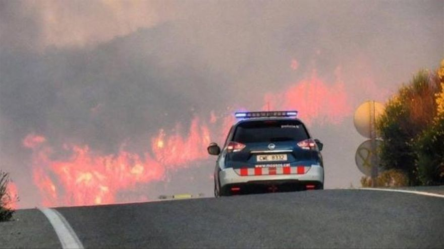 El norte de Castelló está cargado de 'combustible' como el del fuego de Tarragona