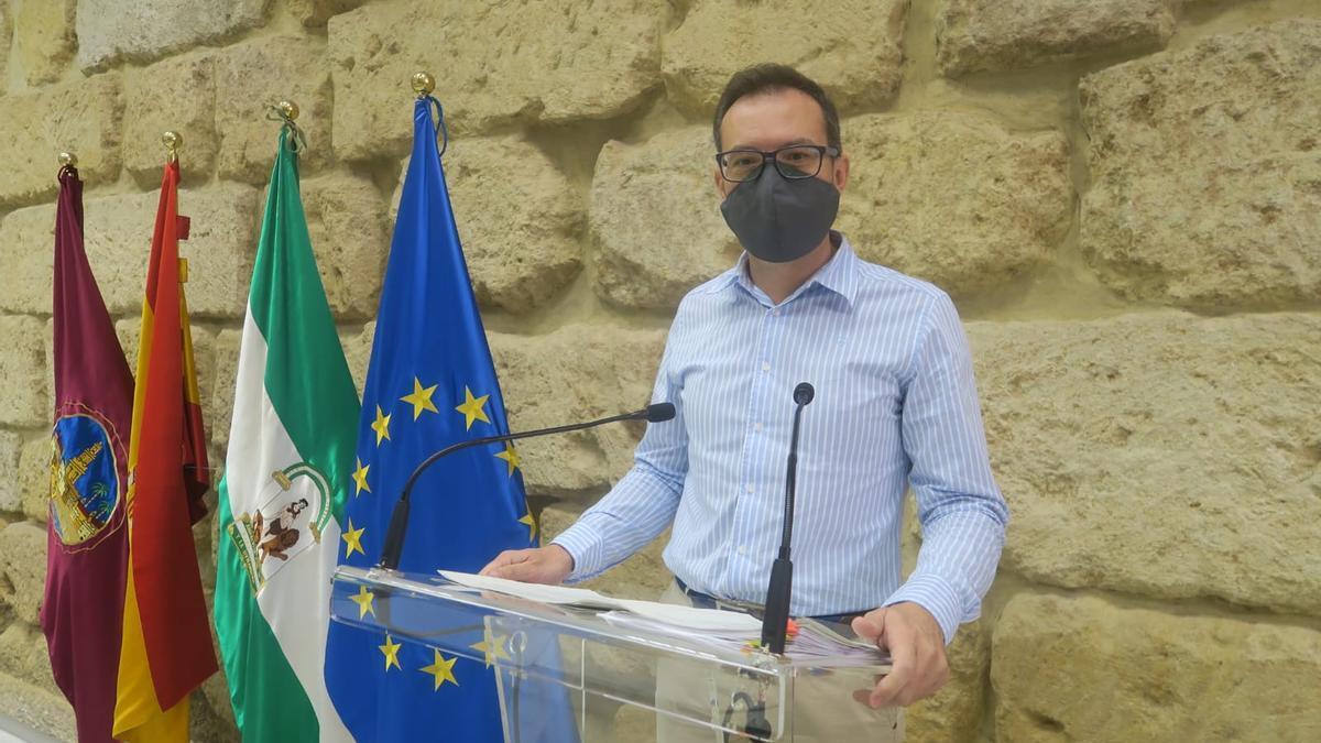 El concejal socialista José Antonio Romero.