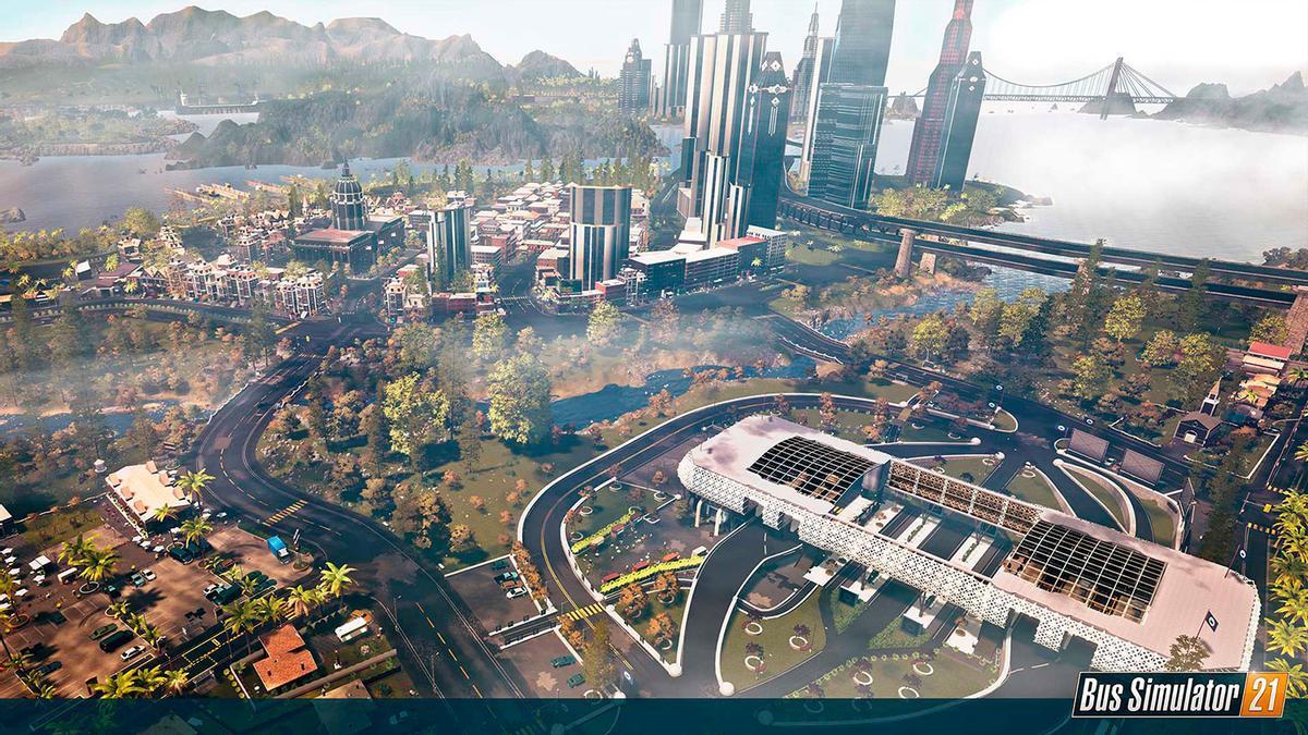 Bus Simulator 21 contará con varios modelos y marcas con licencia en su flota más avanzada.