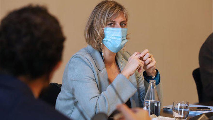 La consellera Alba Vergés diu que el toc de queda és prorrogarà
