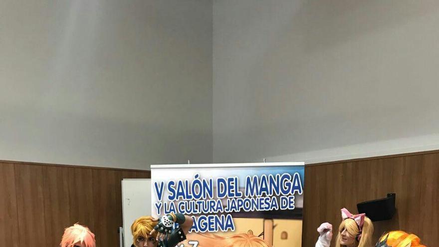 Los 'otakus', a la toma de Cartagena