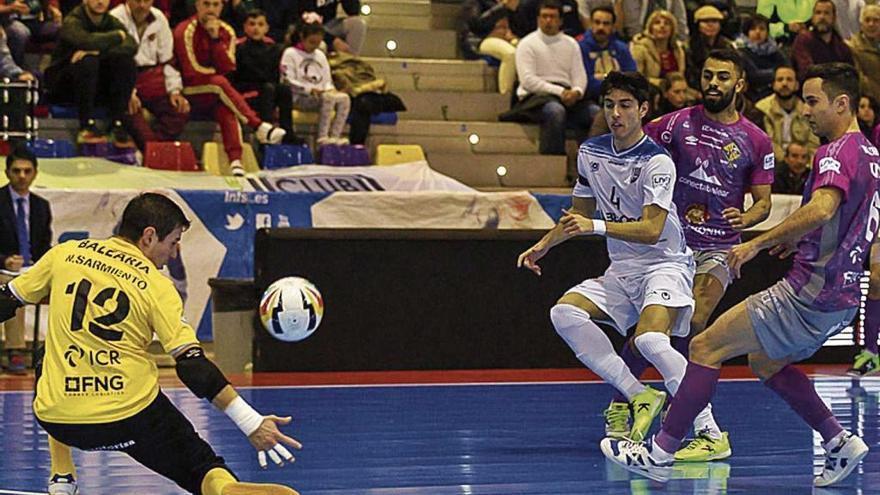 El Palma Futsal vuelve a ir a más
