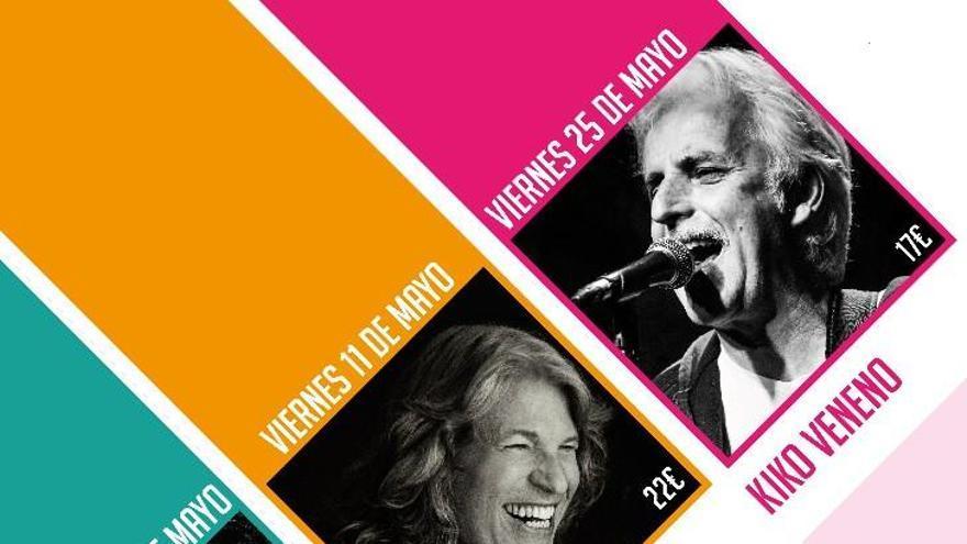Rulo y la Contrabanda, José Mercé y Kiko Veneno, cartel de Música Entre Barricas 2018
