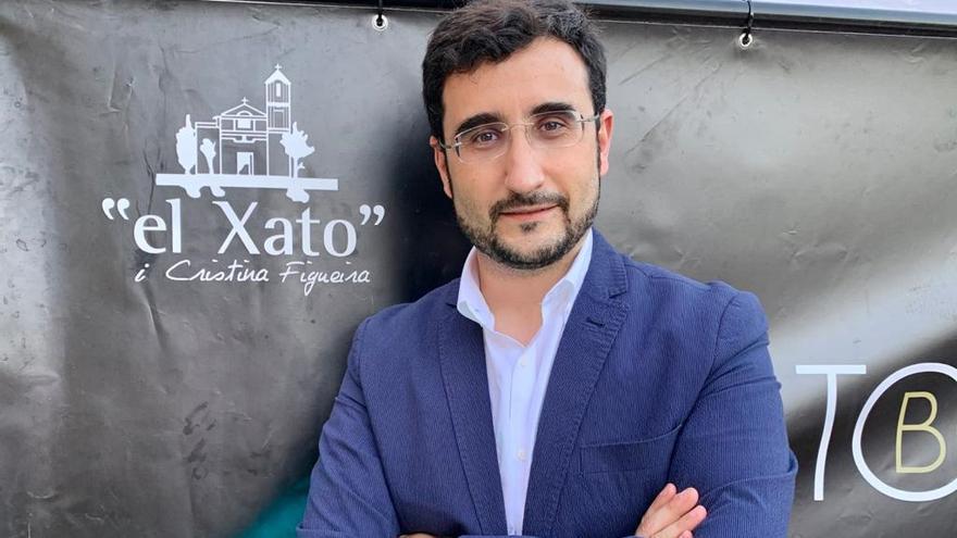 Pepe Cano, gerente de eventos en restaurante El Xato.