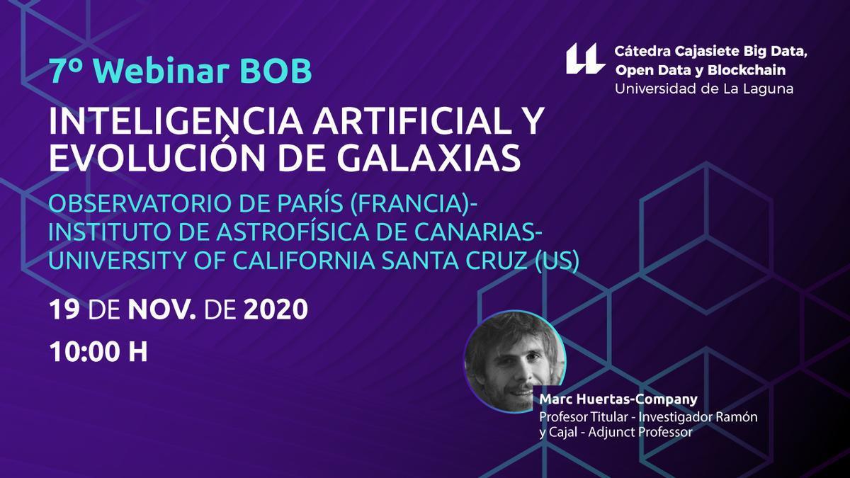 La inteligencia artificial a la astrofísica, nuevo seminario de la ULL