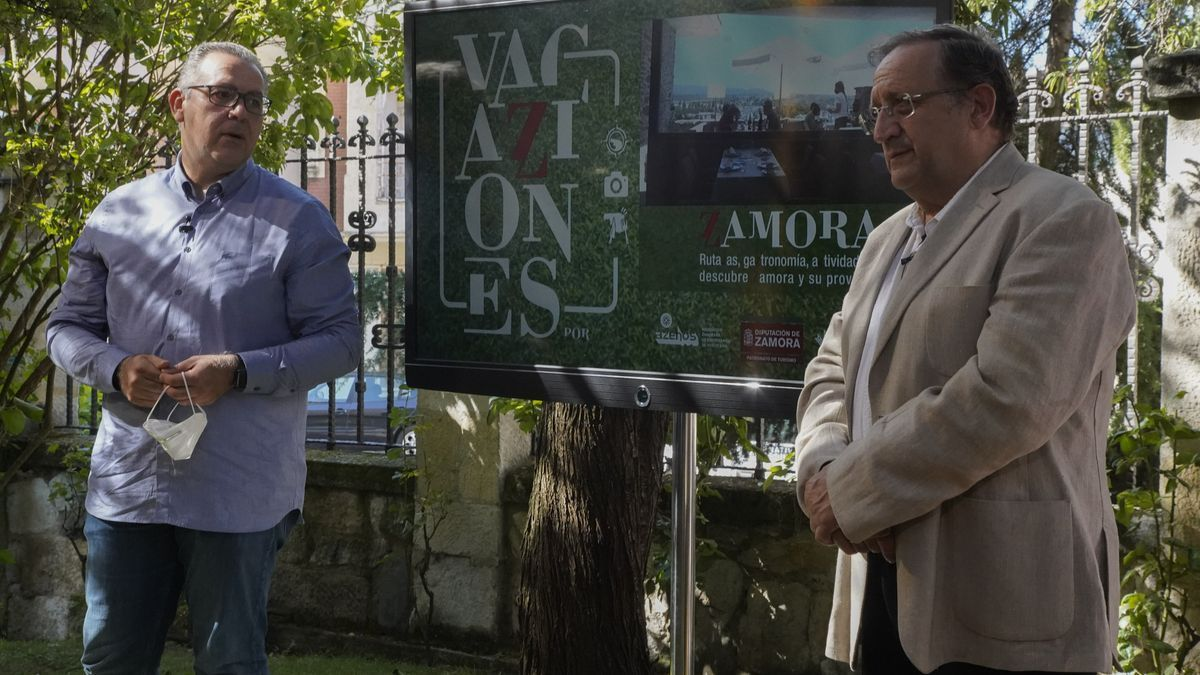 Jesús María Prada y Óscar Somoza
