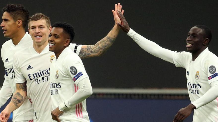 El Real Madrid y el Alavés miden sus estados de forma