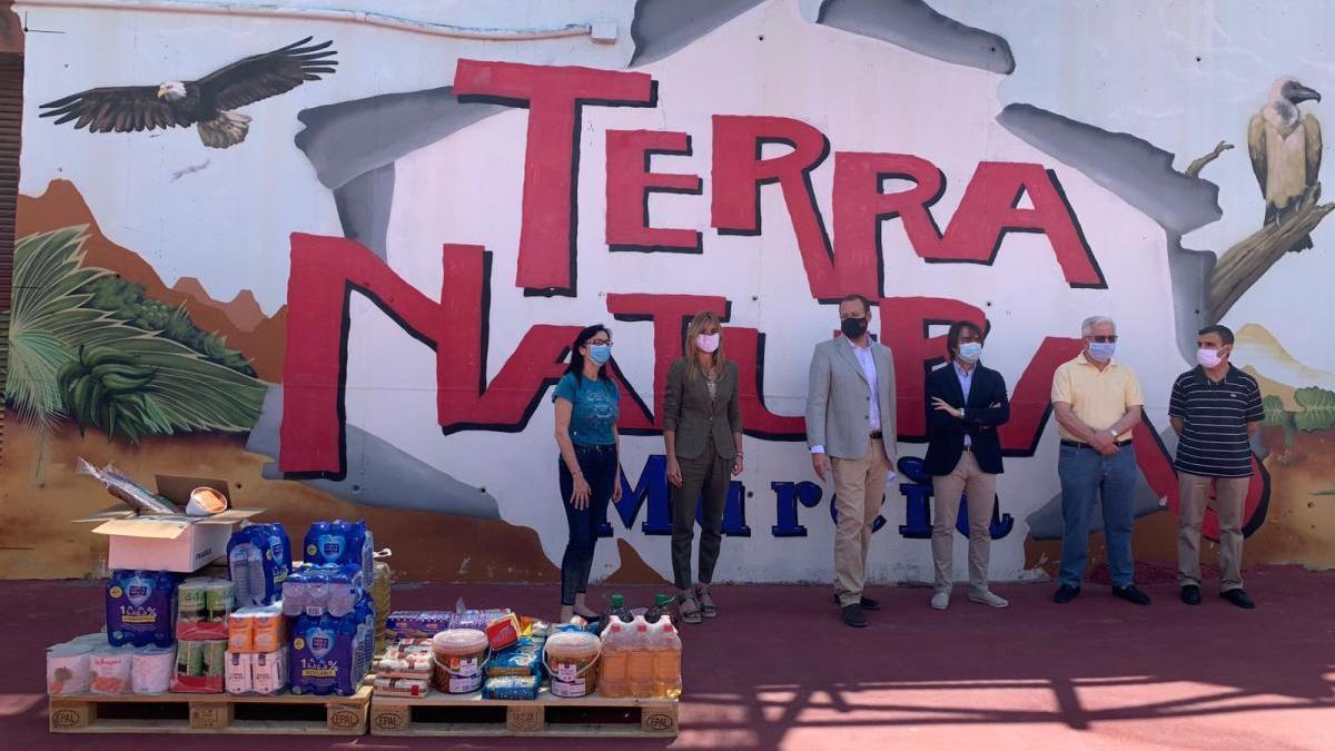 Terra Natura dona 580 kilos de productos al banco de alimento