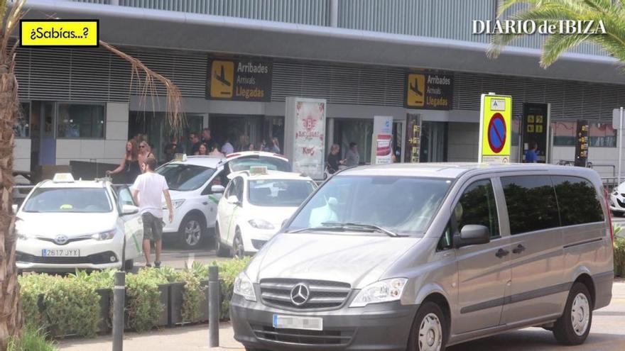 ¿Sabías que Sant Jordi se ha convertido el 'parking' del aeropuerto de Ibiza?