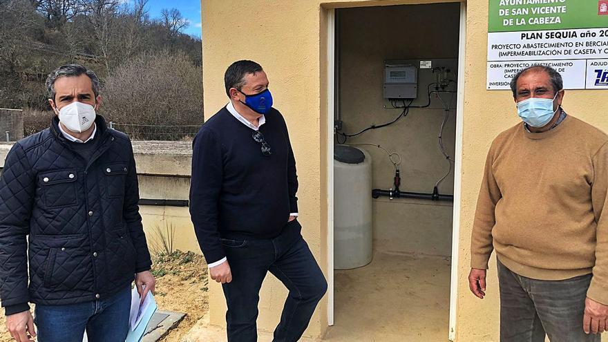 Bercianos de Aliste sella su depósito de agua para acabar con las constantes fugas