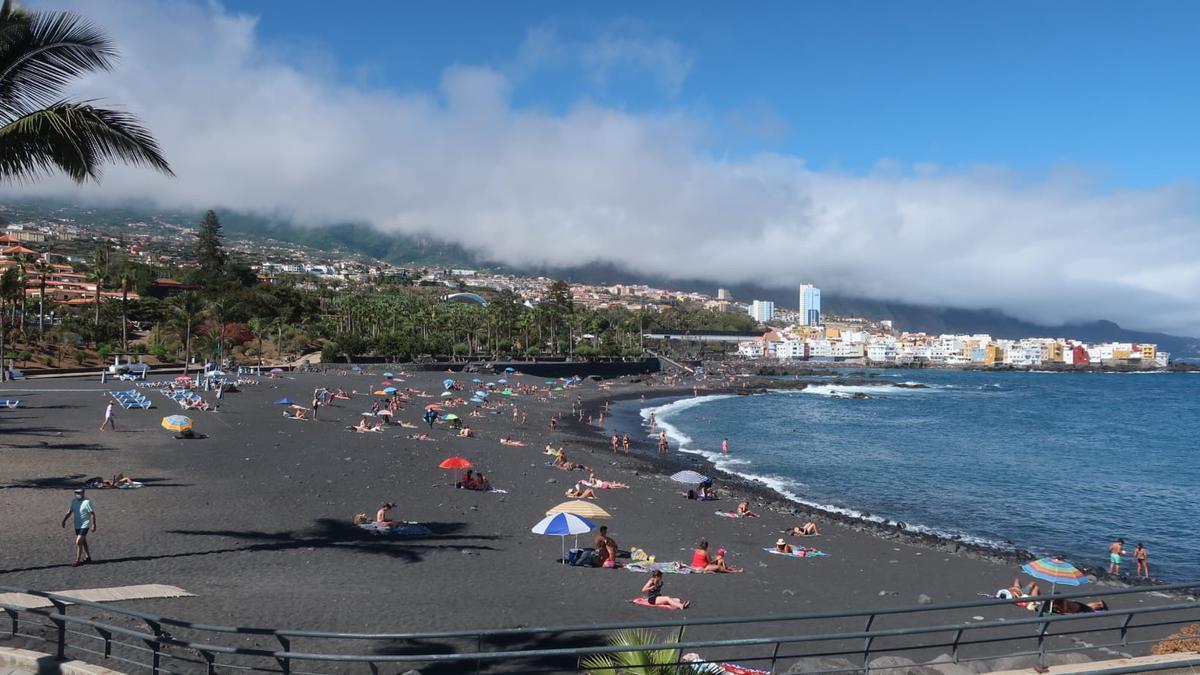 Playa Jardín en Puerto de la Cruz