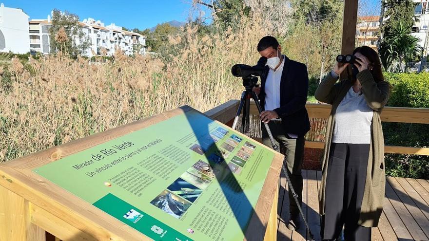 La Senda Litoral incorpora un observatorio ornitológico en la desembocadura del río Verde