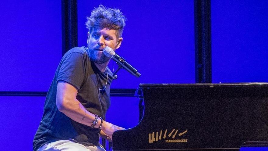 Pablo López, apedreado en su concierto de Albacete