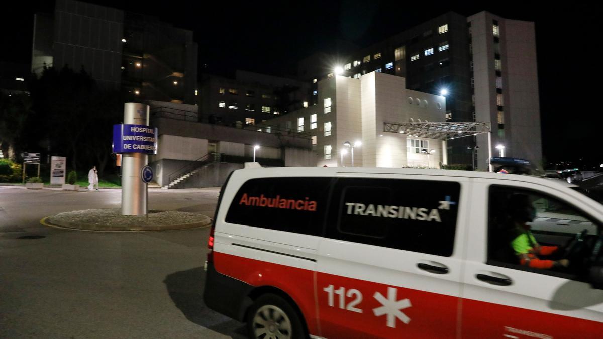 Ambulancia en Cabueñes.