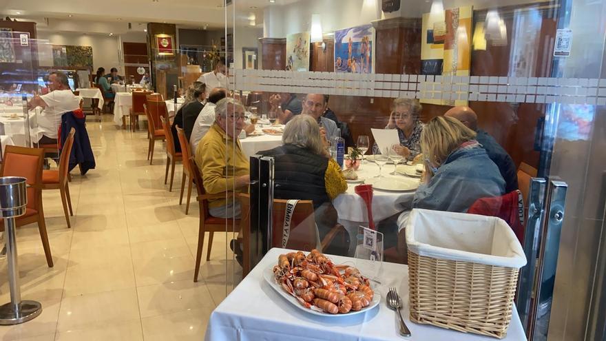 """El """"comedor de Galicia""""  tiene tirón, aunque no celebre la Festa do Marisco"""
