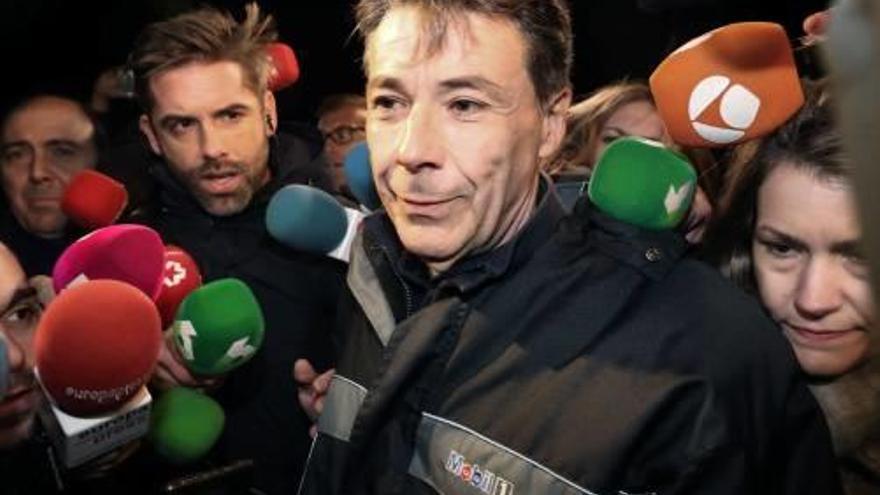 Ignacio González surt de  la presó després de pagar 400.000 euros de fiança