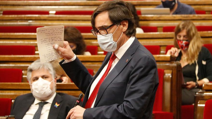 """El PSC demana dictamen al Consell de Garanties sobre el fons del Govern per aclarir """"dubtes"""""""