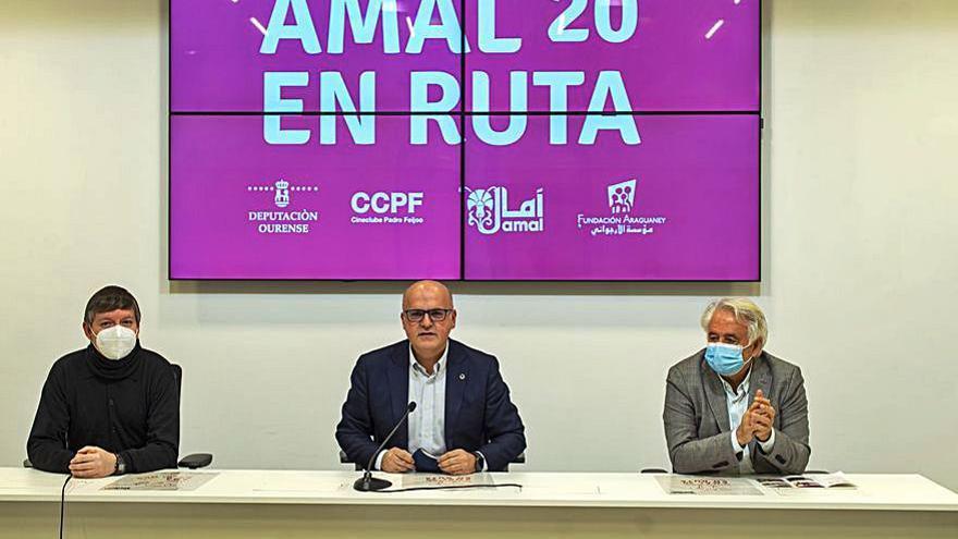 """La Diputación promueve el ciclo de cine """"Amal en ruta"""""""