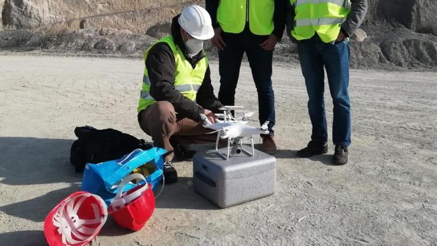 Neue Drohne soll Steinbrüche auf Mallorca überprüfen