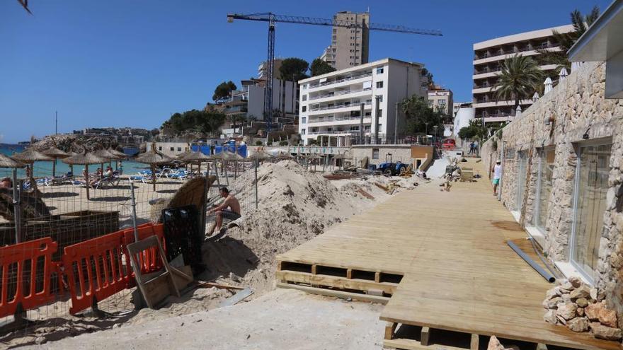 Pastor quiere que Cala Major sea declarada playa accesible tras las mejoras