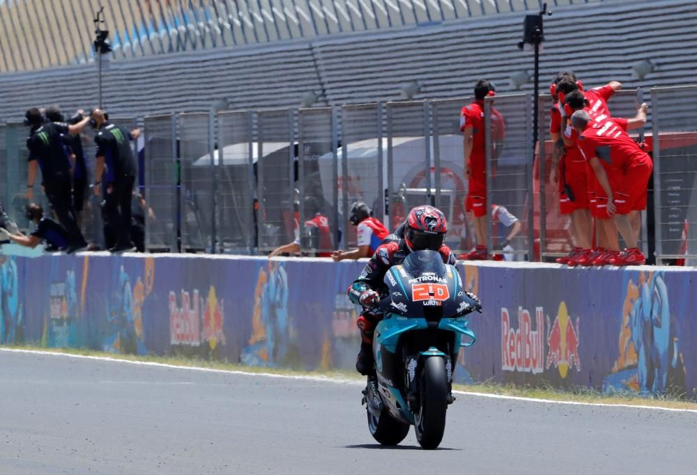 Quartararo se impone en el GP de España.