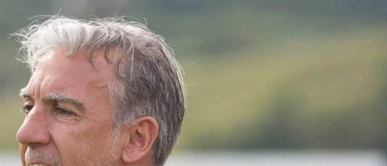 Oli, entrenador del Marino de Luanco.