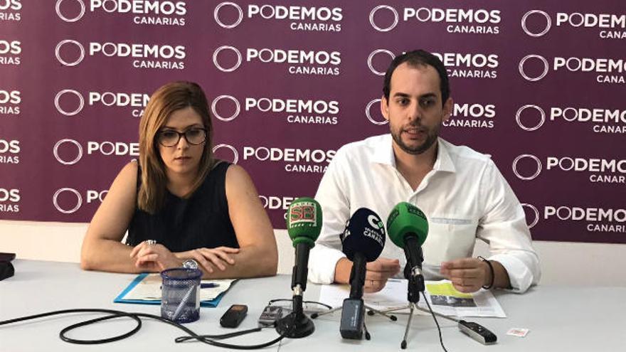 """Podemos tacha de """"decepcionante"""" el segundo año de Morales en el Cabildo"""