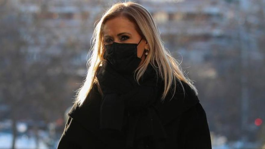 El juez archiva las actuaciones respecto a Cristina Cifuentes por la presunta financiación ilegal del PP de Madrid