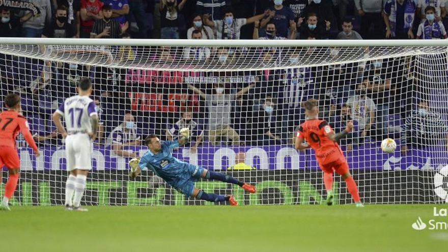 Sigue el Real Valladolid - Málaga CF en directo (1-1)